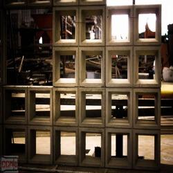 บล็อคช่องลม คอนกรีต โครงสร้างคอนกรีตสำเร็จรูป