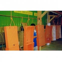เครื่องพ่นสี โรงงานพ่นสีฝุ่น พ่นสีฝุ่นเหล็ก พ่นสีฝุ่น