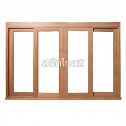 ประตูเลื่อน/หน้าต่างเลื่อน กรอบกระจก