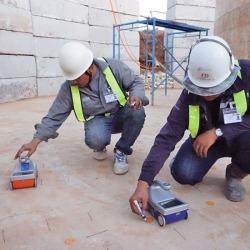 STRUCTURESCAN/งานสตรั๊คเจอร์สแกน งานตรวจสอบแนวลวดสลิงรับแรง