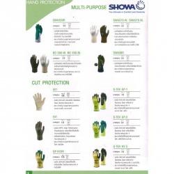 ถุงมือ showa