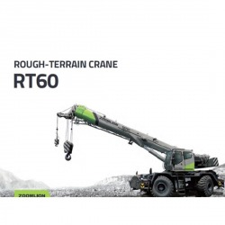 Rough-Terrain Crane 55 Tons