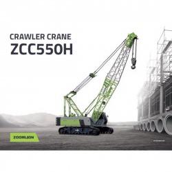Crawler crane 55 Tons