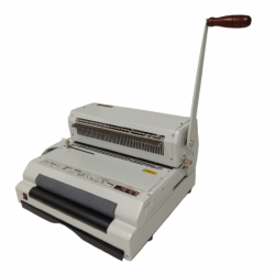 The company sells electric spiral binding machine.