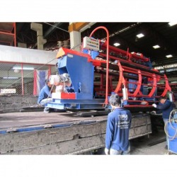 Delivery and Installation Wire Mesh Coiling Machine