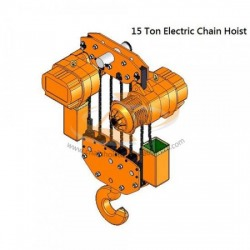 15 TON ELECTRIC CHAIN HOIST