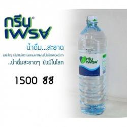 น้ำดื่มตรากรีนเฟรช  1,500 CC