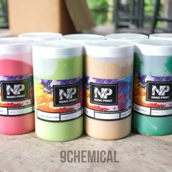 Nano Print ready-to-use colors-9 Chemical & Plastic Co., Ltd