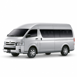 Van for rent for organization, Pattaya company, Chonburi-Prop Up Co Ltd