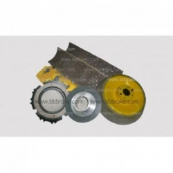 Brake crane brake pulley-Thai Industrial Brake