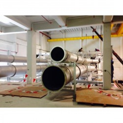 Installation of Chonburi Industrial Piping System