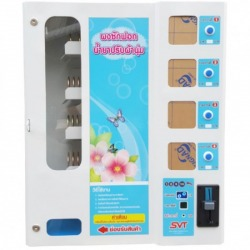 Detergent vending machine fabric softener