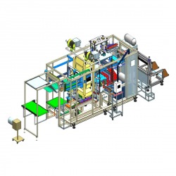 CUT-IN-LINE Thermororming Machine (Vacuum Process)