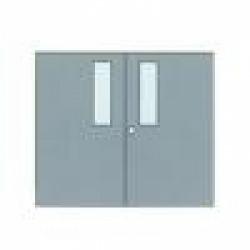 ประตูเหล็กฉีดโฟม