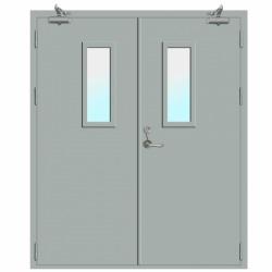 ประตูเหล็กบานคู่