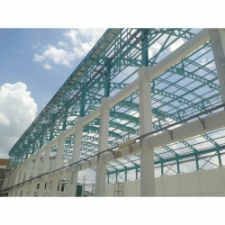 Construction of warehouse structure