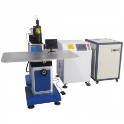 Laser welding machine for channel letters