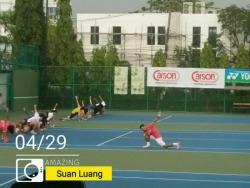 ติดตั้งพื้นสนามกีฬาเทนนิส