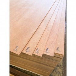 Double-faced polished plywood plywood