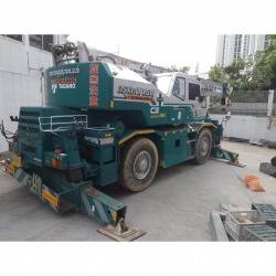 Rent a 25 ton 4 wheel crane