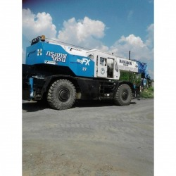 Rental of 50 ton 4 wheel crane