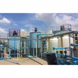 Installed the factory wastewater treatment system