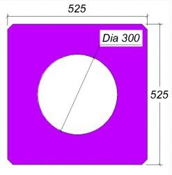 ท่อคอนกรีตอัดแรง  Hollow Cored Square Section Pile  เสาเข็ม