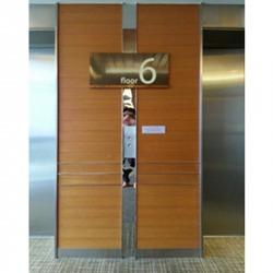 ป้ายหน้าลิฟท์