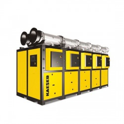 Modular high capacity refrigerated dryers
