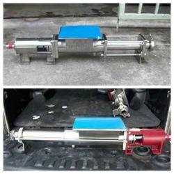 เครื่องสูบแบบ Screw Mono Pump