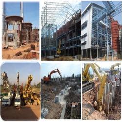 ผู้รับเหมาก่อสร้าง สร้างโรงงานอุตสาหกรรม สร้างโรงงาน ถมดิน