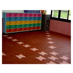 Rubber Paver Flooring