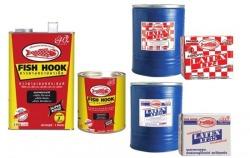 กาวยางสังเคราะห์ชนิดพิเศษ,กาวลาเท็กซ์ตราปลาเบ็ด LT24 ,LT35 - บริษัท ที เค เอส เคมิคอล (ประเทศไทย) จำกัด