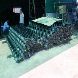 ผลิตสกรูลำเลียง และ ติดตั้งสกรูลำเลียง Screw Conveyor  - บริษัท แพลเนททารี่ เทคโนโลยี จำกัด
