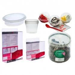 กระบอกพลาสติก (กล่องพลาสติกกลม) และ กล่องพับพลาสติก  (PVC,PET)
