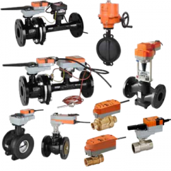 BELIMO Control Vales and Actuator