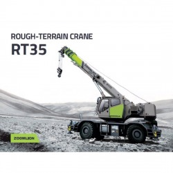 Rough-Terrain Crane 35 Tons