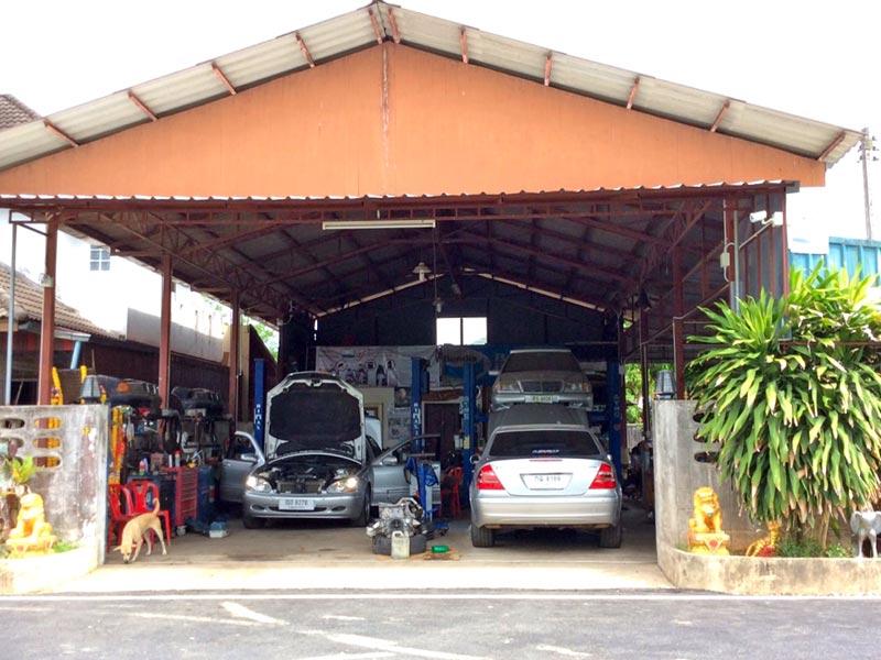 ซ่อมเครื่องยนต์ Benz สงขลา