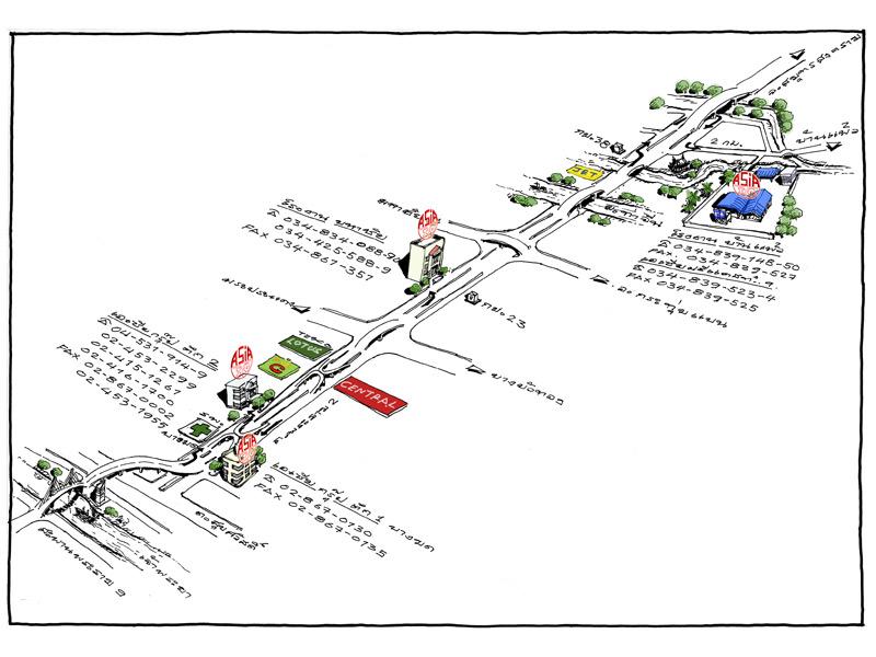 แผนที่ เอเซียกรุ๊ป (1999) เสาเข็มคอนกรีต