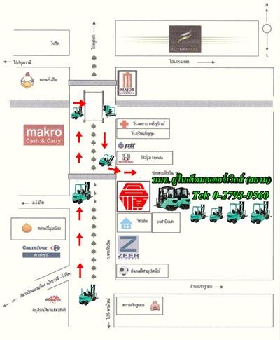 แผนที่ บริษัท ยูไนเต็ดมอเตอร์เวิกส์ (สยาม) จำกัด (มหาชน)