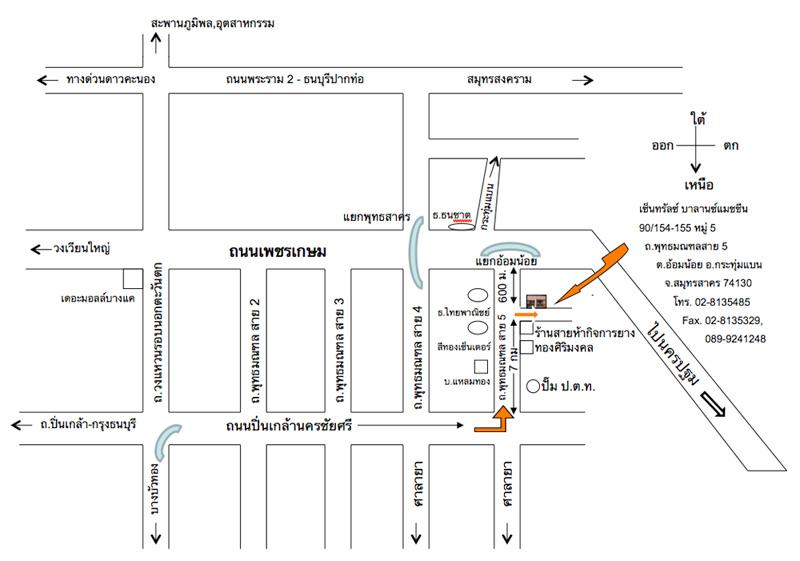 แผนที่ เซ็นทรัล บาลานซ์ แมชชีน