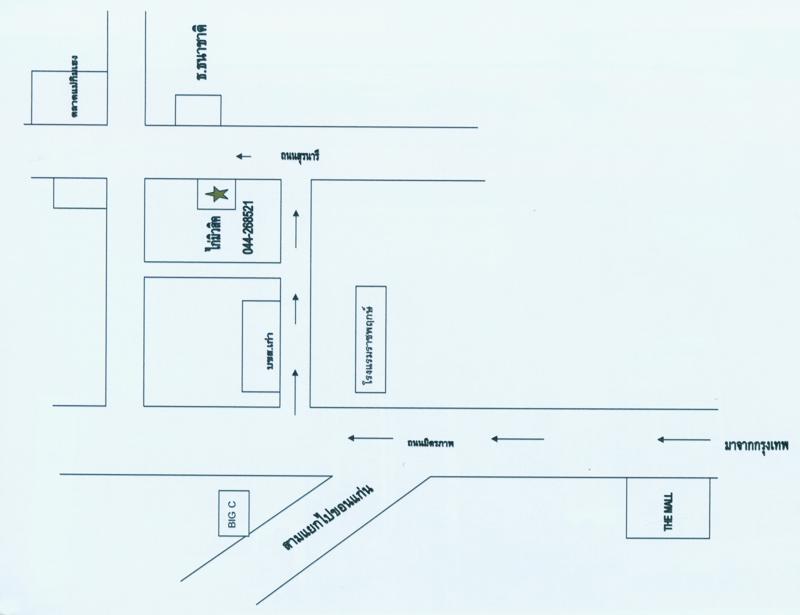 แผนที่ ห้างหุ้นส่วนจำกัด ไก่มิวสิค แอนด์ ซัพพลาย