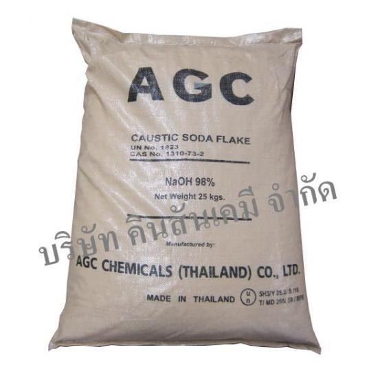 คินสันเคมี บจก  - โซดาไฟเกล็ด (Caustic Soda Flake 98%)