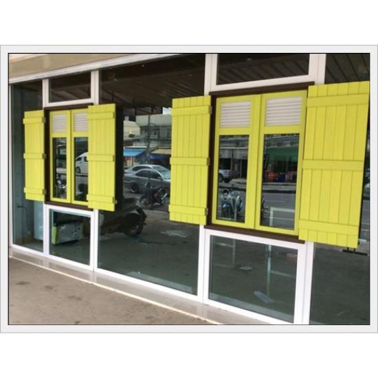 กระจก อลูมิเนียม สงวนชัย ประจวบคีรีขันธ์  - หน้าต่างบานสวิง ประจวบคีรีขันธ์