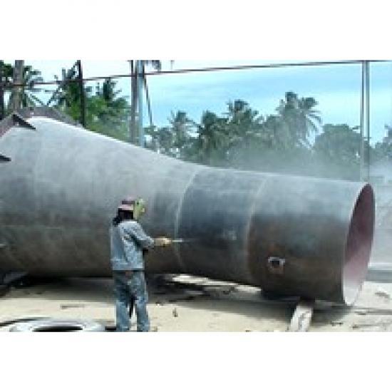 รับซ่อมถังเหล็กเก็บน้ำระบบพ่นทราย (SandBlast) รับซ่อมถัง