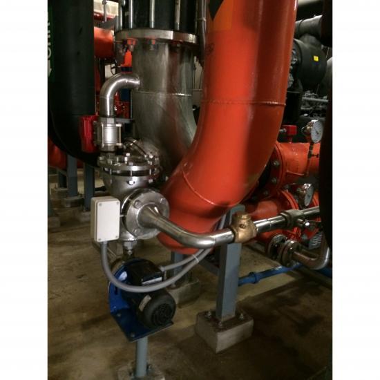 Ball cleaning system - ระบบทำความสะอาดท่อ Condenser