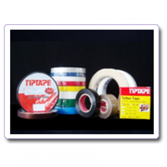 เทปทนความร้อน เทปพันสายไฟ (electric pvc tape)  ผ้าซีล (teflon tape)  electric glass cloth tape  electric kapton tape  electric polyester tape