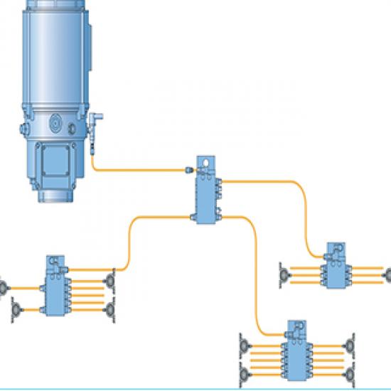 มิลเลนเนี่ยม เทคโนโลยี่ บจก - ระบบหล่อลื่นอัตโนมัติแบบ  ซีรี่ โปรเกรสซีพ