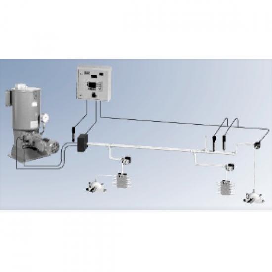 มิลเลนเนี่ยม เทคโนโลยี่ บจก - ระบบหล่อลื่นแบบสองท่อทาง( TWO LINE SYSTEM )