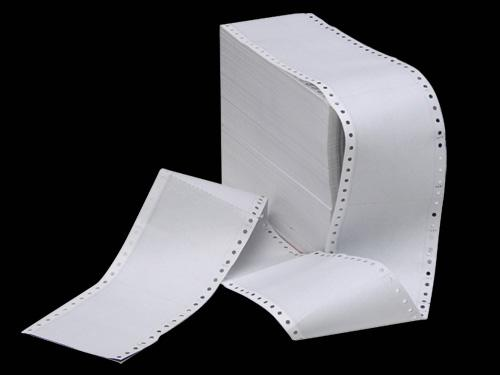 กระดาษพิมพ์ต่อเนื่อง กระดาษพิมพ์ต่อเนื่ิอง